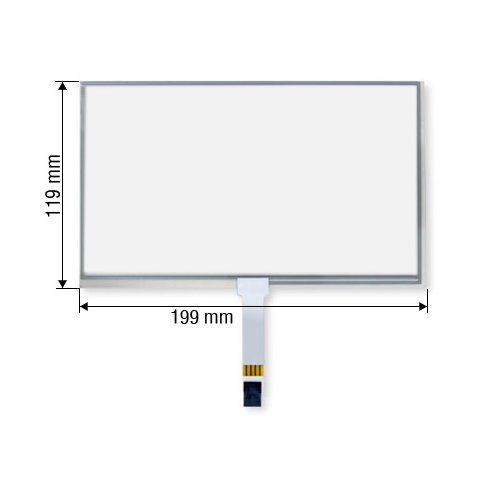 "8.5"" Resistive Touch Screen Panel for Acura/Infiniti/Honda"