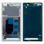 LCD Binding Frame Sony C6602 L36h Xperia Z, C6603 L36i Xperia Z, C6606 L36a Xperia Z, (white)