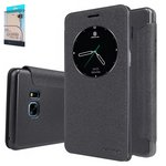 Case Nillkin Sparkle laser case compatible with Samsung N930FGalaxy Note 7, (black, flip, PU leather, plastic) #6902048150416