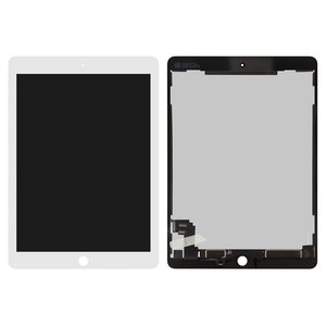 Pantalla LCD para tablet PC Apple iPad Air 2, blanco, con cristal táctil, Original (PRC)