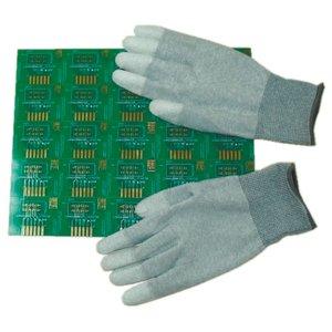 Антистатические перчатки Maxsharer Technology C0504-XL с полиуретановым покрытием пальцев