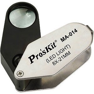 Ручна лінза з підсвічуванням Pro'sKit MA-014