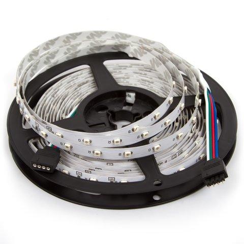 Світлодіодна стрічка SMD3528 RGB, 60 світлодіодів, 12 В DC, 1 м, IP20
