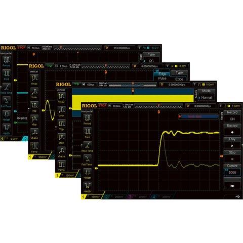 Програмне розширення RIGOL MSO5000 EMBD для декодування I2C, SPI