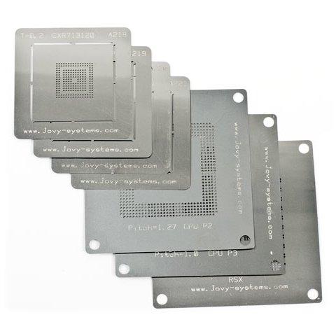 BGA Reballing Stencils Jovy Systems JV RMP for PS3