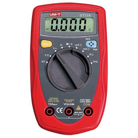 Digital Multimeter UNI T UT33A